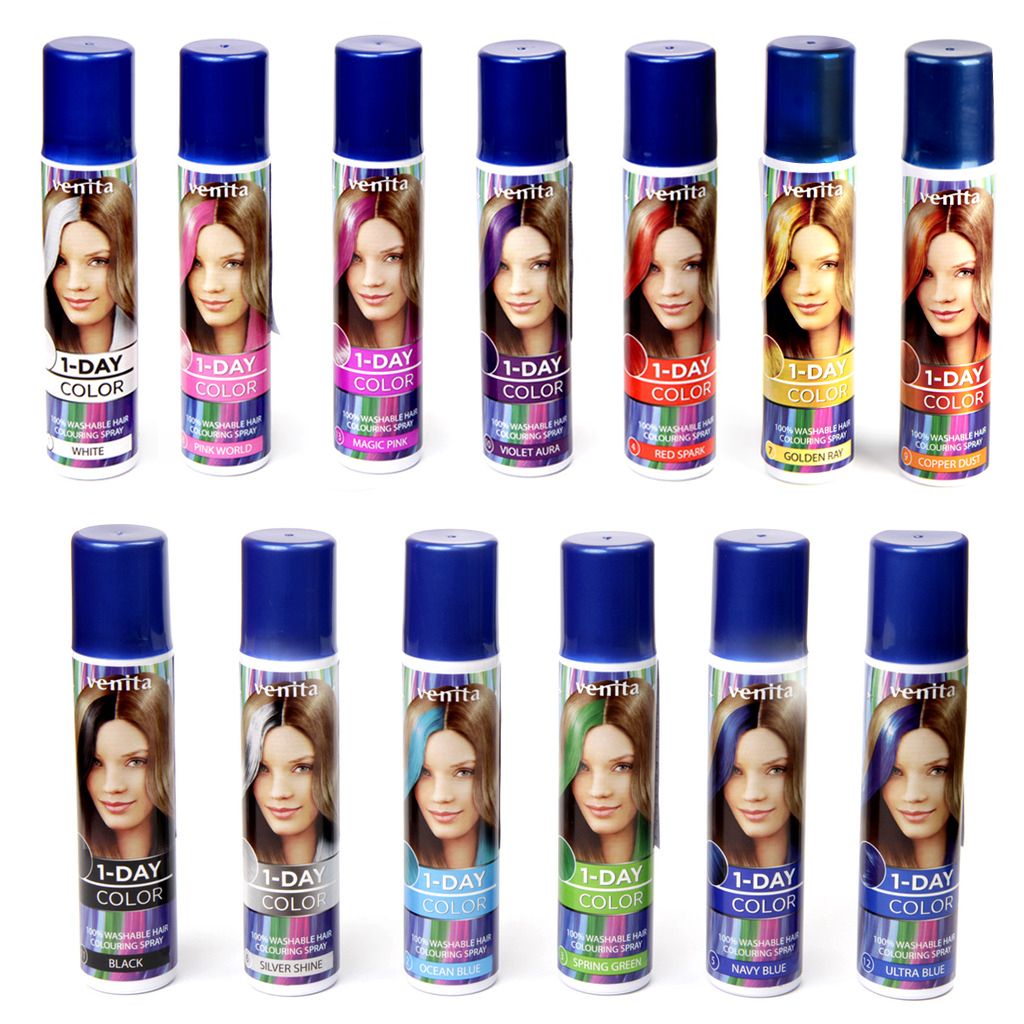 Beautiful Color Hair Spray Washable